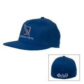 Royal OttoFlex Flat Bill Pro Style Hat-Stacked Shield/Phi Delta Theta
