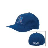 Royal OttoFlex Unstructured Low Profile Hat-Stacked Shield/Phi Delta Theta