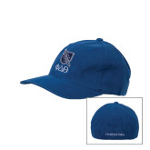 Royal OttoFlex Unstructured Low Profile Hat-Stacked Shield/Phi Delta Theta Symbols