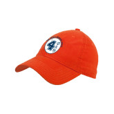 Orange Twill Unstructured Low Profile Hat-Lou Gehrig Memorial Award