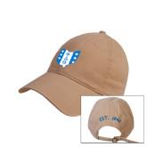 Khaki Twill Unstructured Low Profile Hat-Ohio