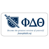Super Large Magnet-Shield/Phi Delta Theta Symbols Recruitment, 24in W