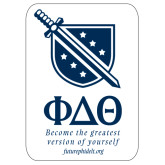 Super Large Magnet-Stacked Shield/Phi Delta Theta Symbols Recruitment, 24in H