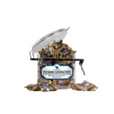 Snickers Satisfaction Small Round Canister-Stacked Shield/Phi Delta Theta