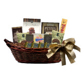 Special Treasures Medium Gift Basket-Stacked Shield/Phi Delta Theta