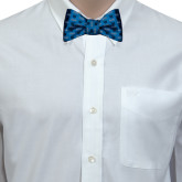 Light Blue Silk Bow Tie-
