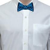 Light Blue Silk Bow Tie-