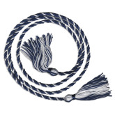 Navy/White Graduation Honor Cord-