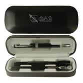 Black Roadster Gift Set-Shield/Phi Delta Theta Symbols Engraved