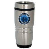 Rolling Ridges Silver Stainless Tumbler 16oz-HC Summit