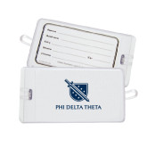 Luggage Tag-Stacked Shield/Phi Delta Theta