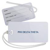 Luggage Tag-Phi Delta Theta Flat