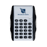 White Flip Cover Calculator-Stacked Shield/Phi Delta Theta