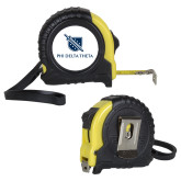 Journeyman Locking 10 Ft. Yellow Tape Measure-Stacked Shield/Phi Delta Theta