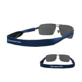Croakies Navy Thin Band Sunglasses Strap-Flat Shield/Phi Delta Theta