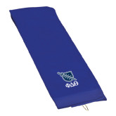 Royal Golf Towel-Stacked Shield/Phi Delta Theta Symbols