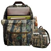 Heritage Supply Camo Computer Backpack-Phi Delta Theta Symbols