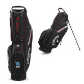 Callaway Hyper Lite 5 Black Stand Bag-Stacked Shield/Phi Delta Theta Symbols