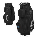 Callaway Org 14 Black Cart Bag-Stacked Shield/Phi Delta Theta Symbols