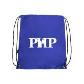 Royal Drawstring Backpack-PHP