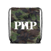 Camo Drawstring Backpack-PHP