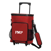 30 Can Red Rolling Cooler Bag-PHP