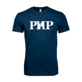 Next Level SoftStyle Navy T Shirt-PHP