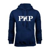 Navy Fleece Hood-PHP
