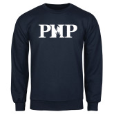 Navy Fleece Crew-PHP