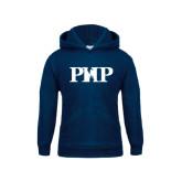 Youth Navy Fleece Hood-PHP