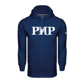 Under Armour Navy Performance Sweats Team Hoodie-PHP