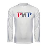 Performance White Longsleeve Shirt-PHP