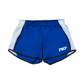 Ladies Royal/White Team Short-PHP