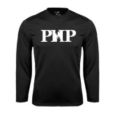 Syntrel Performance Black Longsleeve Shirt-PHP
