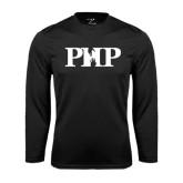 Performance Black Longsleeve Shirt-PHP