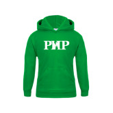 Youth Kelly Green Fleece Hoodie-PHP