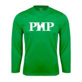 Performance Kelly Green Longsleeve Shirt-PHP
