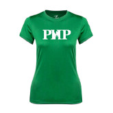 Ladies Syntrel Performance Kelly Green Tee-PHP