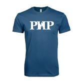 Next Level SoftStyle Indigo Blue T Shirt-PHP