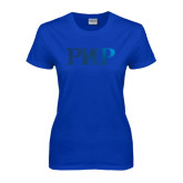 Ladies Royal T Shirt-PHP Foil