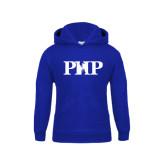Youth Royal Fleece Hood-PHP