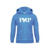 Youth Light Blue Fleece Hoodie-PHP