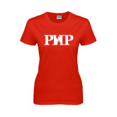 Ladies Red T Shirt-PHP