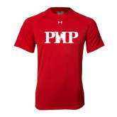 Under Armour Red Tech Tee-PHP