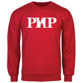 Red Fleece Crew-PHP