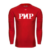 Under Armour Red Long Sleeve Tech Tee-PHP