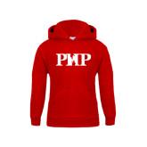 Youth Red Fleece Hood-PHP