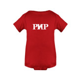 Red Infant Onesie-PHP