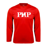 Syntrel Performance Red Longsleeve Shirt-PHP
