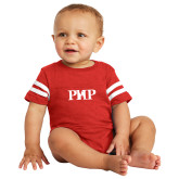 Vintage Red Jersey Onesie-PHP